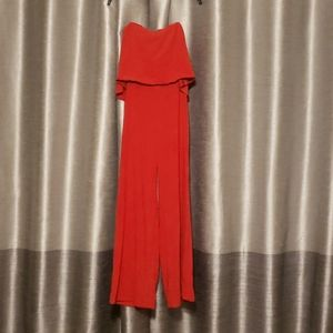 NWT Do+Be Strapless Jumpsuit